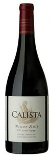 Calista Pinot Noir The Coast Range 2012 750ml